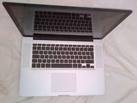 Used, Apple Macbook PRO 15 inch, 2. 53Ghz i5, 240GB SSD HD, 8GB Ram, Running LOGIC X and OSX High Sierra for sale  Surrey Quays, London
