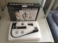 Stabilizer for cameras and cell phones