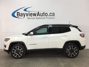 2017 Jeep Compass Limited - HTD LTHR! PANOROOF! NAV! REVERSE...