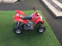 Red ATV 6volt Ride On