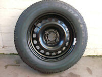 Wheel and tyre 185x70x14