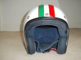 Modena Cafe Open Face Crash Helmet - Size Small **STILL AVAILABLE**