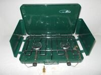 HI GEAR - portable double gas camping stove - BRAND NEW