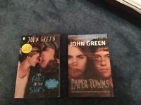 2 books by John Greene – The Fault in our stars and Papertowns