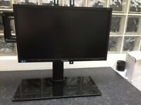 Samsung S24E200 Monitor with stand x 2