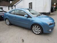 FORD FOCUS CC CONVERTIBLE ONLY 25000 MILES ONE LADY OWNER RARE TAN LEATHER