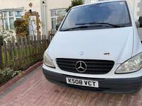 Mercedes-Benz, VITO, Panel Van, 2008, Manual, 2148 (cc)