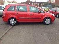 2006 Vauxhall Zafira 1.6 Petrol 7 Seater 12 MONTHS MOT,SERVICE HISTORY