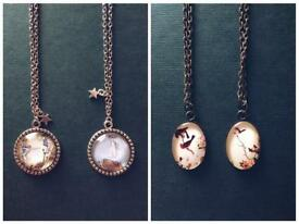 Nature and fairie necklaces ✨