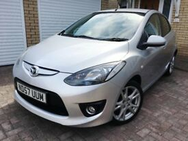 ☆ Mazda 2 Mazda2 1.5 Sport 5dr Hatchback Silver – Only 49k FSH, High Spec Model ☆