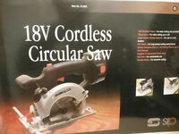 SIP Cordless 18V Circular Saw