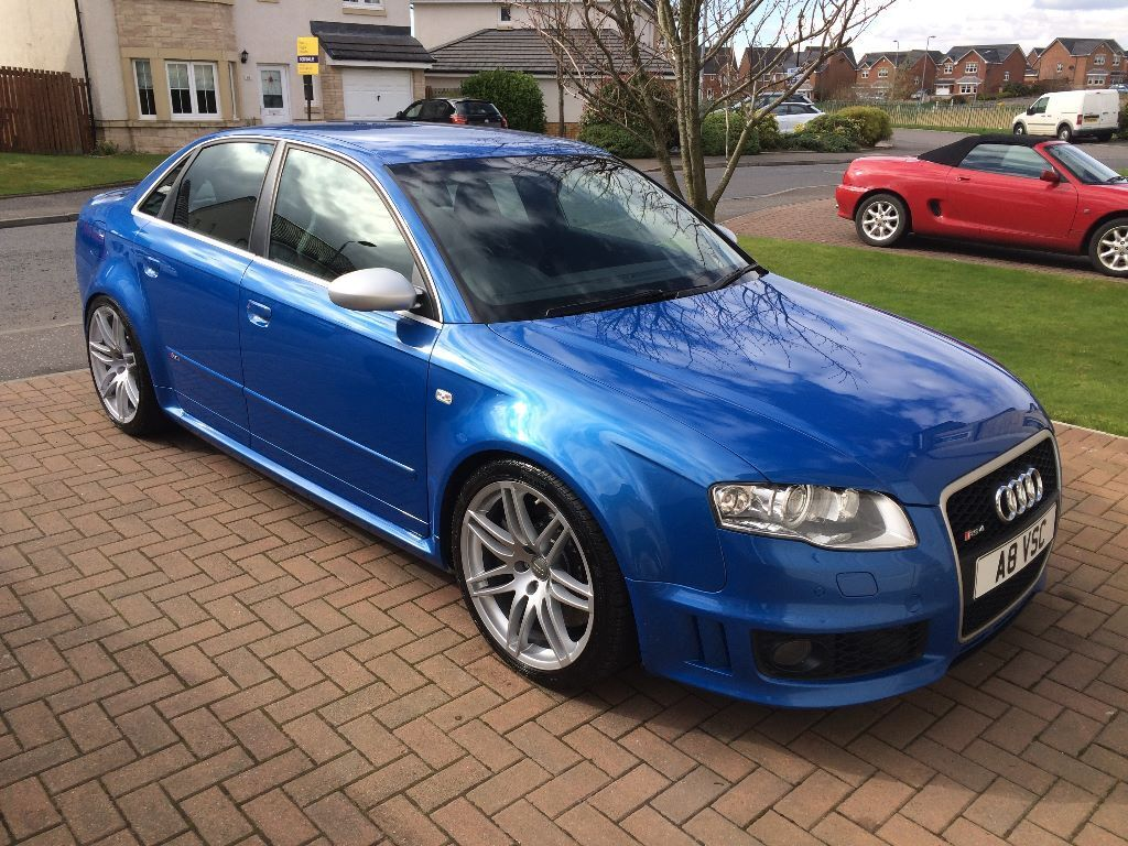 2006 audi rs4 b7 sprint blue saloon in kilmarnock east. Black Bedroom Furniture Sets. Home Design Ideas