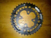 Shimano 2 X chainrings set up