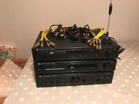 Cambridge Audio amp, CD player & DAB tuner