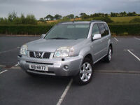Nissan X Trail 2007 Aventura full years MOT 84000 miles 4x4 jeep not land rover freelander £3500