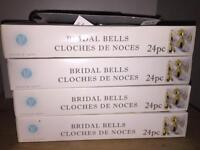 Set of 96 wedding bells