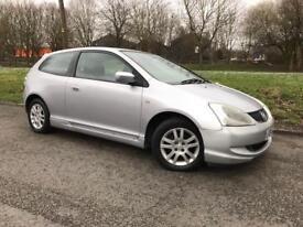 Honda Civic 1.6 i-VTEC SE 3dr low mileage bargain car for sale