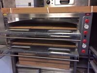"CATERING COMMERCIAL BRAND NEW 12X13"" DOUBLE DECK ITALIAN PIZZA OVEN CAFE SHOP TAKE AWAY CUISINE SHOP"