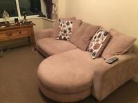 4 seater cushion back DFS sofa