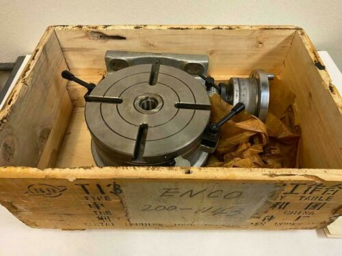 """Brand New 8"""" Rotary Table 200 mm For Bridgeport Milling Machine"""