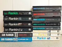 Job lot: Ian Rankin novels