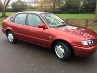 QUICK SALE - BEST OFFER. 2002 TOYOTA COROLLA 1.6 FULL SERVICE HISTORY. LONG MOT. EXCELLENT CONDITION