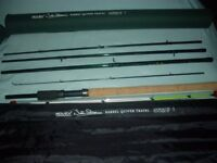 TRAVEL BARBEL ROD AND REEL