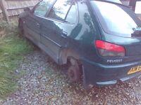 Peugeot 306 car breaking