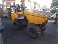 benford t-rex 1 tonne skip loader/ mini dumper