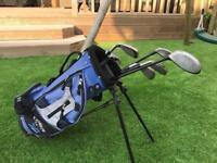 Callaway junior boys golf club set and bag