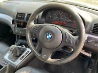 Bmw e46 m sport multifunction steering wheel with airbag