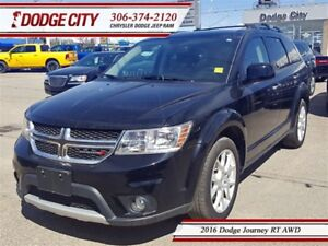 2016 Dodge Journey RT | AWD - Remote Start, Uconnect, Park Sense