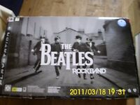 The Beatles rockband limited edition set of drums, as new in box works with play station 3 system