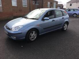 2004 blue 1.6 Ford Focus long not full history