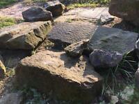 Large pond stones