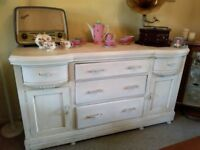 SHABBY CHIC/ VINTAGE SIDEBOARD