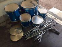 used junior drum kit