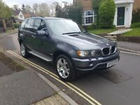 2003 BMW X5 SPORT 3.0 PETROL MANUAL GREY FULL BLACK LEATHER 11OK MILES SERVIC...