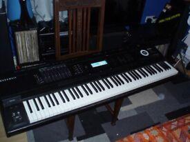 Kurzweil K2500X 88 Weighted Keys Workstation/Synthesizer 128 MB RAM, PRAM, Orch/Contemp/Piano ROM
