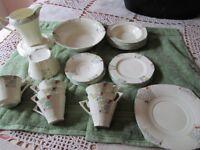 30 piece Alfred Meakin tea set