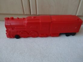 Childs Red Push Along Train