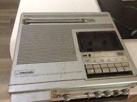Vintage Ferguson Cassette player radio and tv