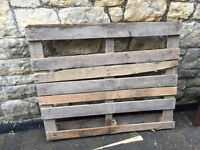 Pallet free if collected