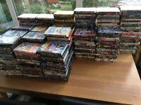 386 DVD'S ACTION,HORROR,ROMANCE,COMEDY £70
