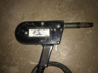 Millermatic 251 spool gun
