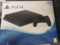 Sony PlayStation PS4 500GB + Download code for PES 2017