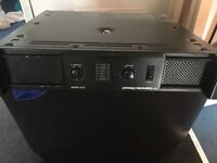 Cerwin vega v900 amplifier good quality casing scratched due to gigging but works perfectly