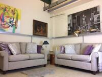 Two Laura Ashley Abingdon two seater sofa