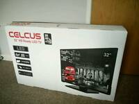 """Used Celcus 32"""" LED tv in excellent condition"""