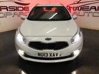 KIA CEED 1.6 CRDi 2 Sportswagon ISG 5dr (white) 2013